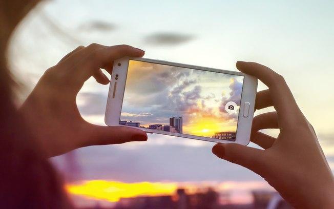 Tirando fotos fotos profissionais com o celular.